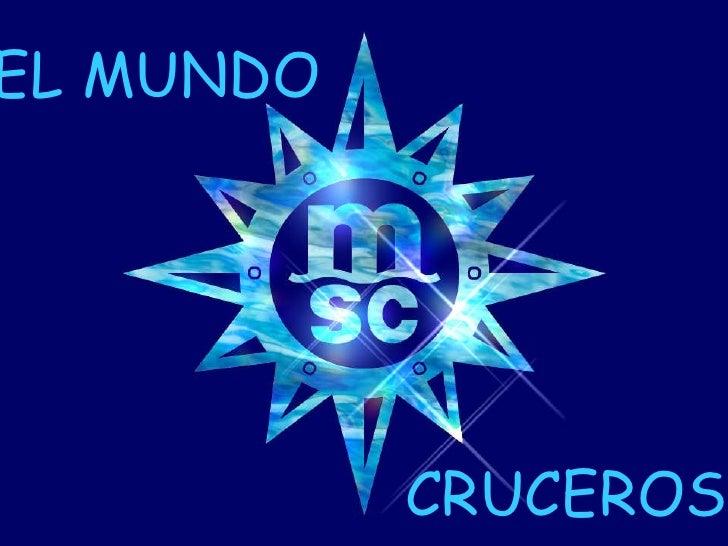 EL MUNDO CRUCEROS