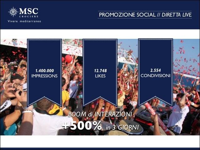 PROMOZIONE SOCIAL // DIRETTA LIVE BOOM di INTERAZIONI  +500% in 3 GIORNI