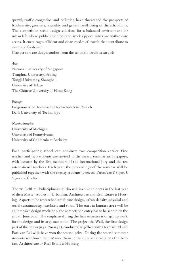 thesis entrance permit ewi