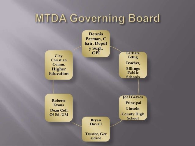    Partnership with Local School   Credit Granted by Local School   MTDA Online Instructors are Montana    licensed - e...