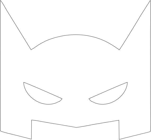 Máscara super herois
