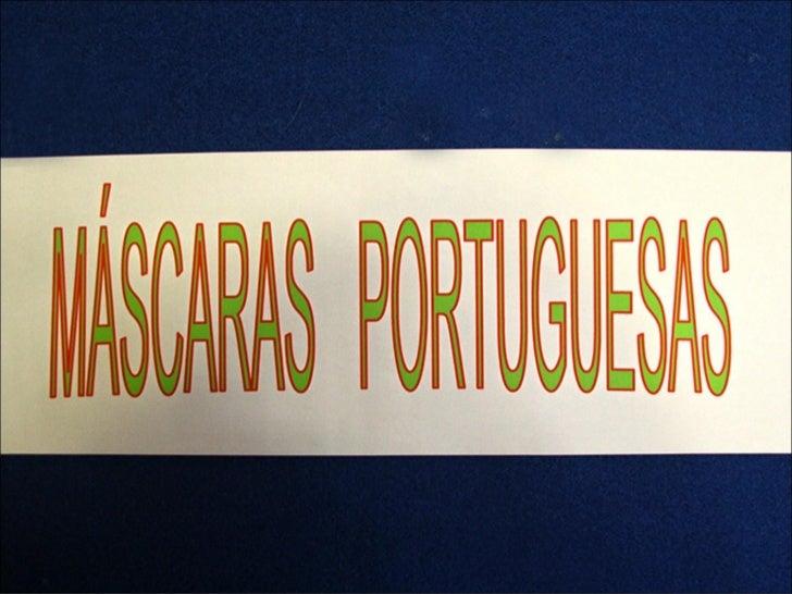 Máscaras portuguesas