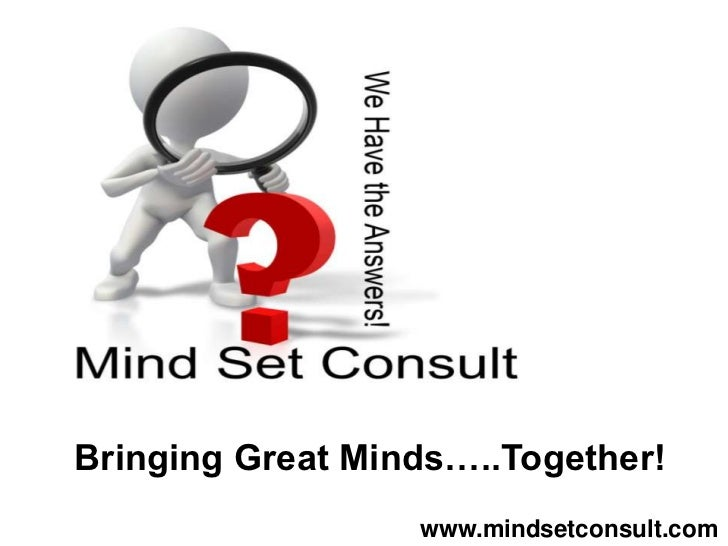 Discussion Tool Kit   Bringing Great Minds…..Together!Animated PowerPoint Template                      www.mindsetconsult...