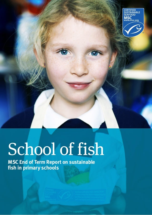 Marine Stewardship Council Global Impacts Report 20151 School of fish MSC End of Term Report on sustainable fish in primar...