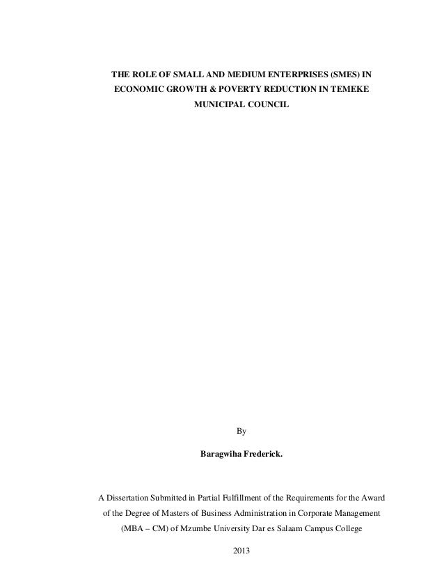 Phd thesis on poverty alleviation