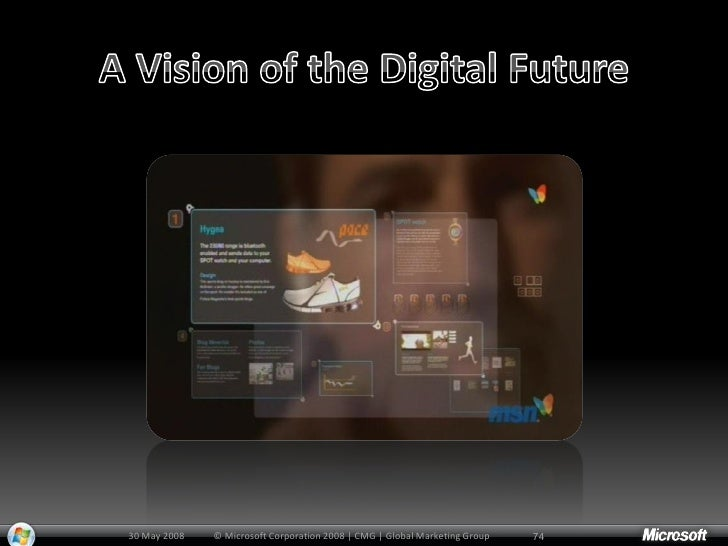 30 May 2008   © Microsoft Corporation 2008 | CMG | Global Marketing Group   75