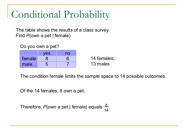 Probability: Types of Events