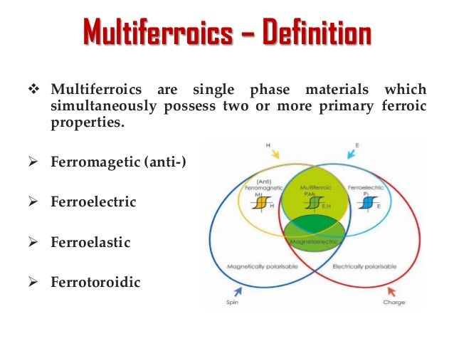 thesis on multiferroic materials The properties and growth of multiferroic bimno 3 master thesis, 01-04-2003 an example of the use of multiferroic materials will be in multiple-state memory.