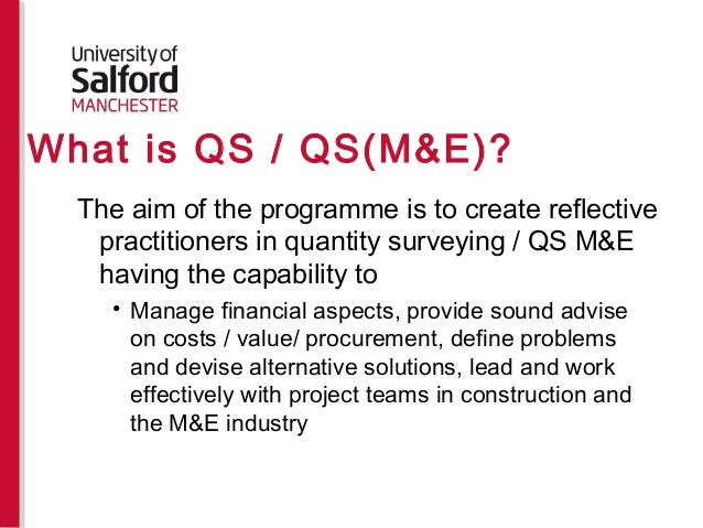 Distance Learning: Quantity Surveyor Courses Distance Learning