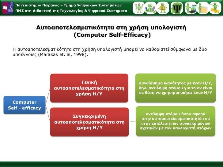 Προσδοκία αποτελέσματος (outcomeexpectation)  </li></li></ul><li>Το θεωρητικό μοντέλο της αυτοαποτελεσματικότηταςτου Bandu...