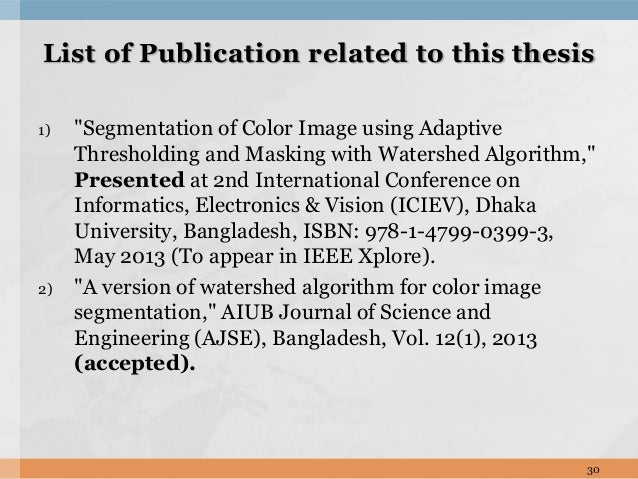 Color Constancy and Image Segmentation Techniques for Applications to Mobile Robotics