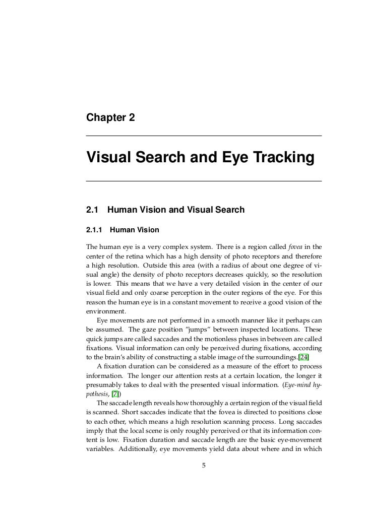 Search master thesis