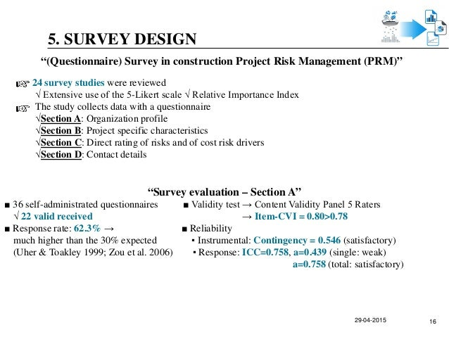 thesis on project management - construction