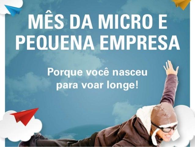 Em outubro comemora-se o Mês da Micro e Pequena Empresa. Nesse período o Sebrae Goiás realiza uma série de atividades volt...