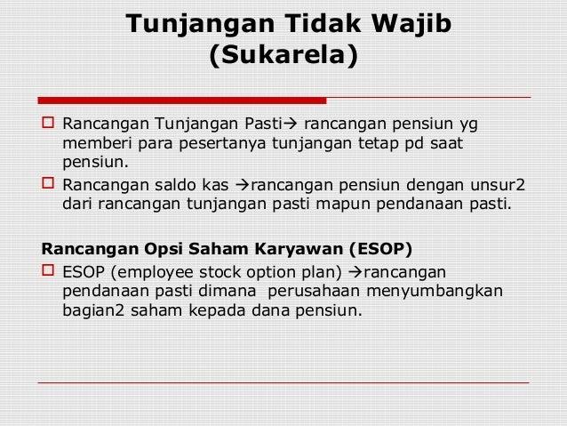 Menguangkan opsi saham karyawan