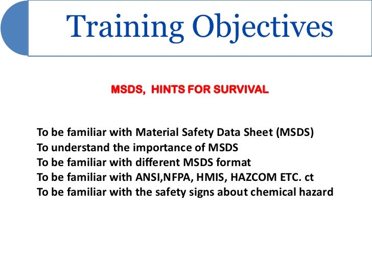 Sds training ppt.