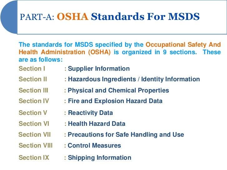 msds presentation rh slideshare net OSHA MSDS Book GHS MSDS