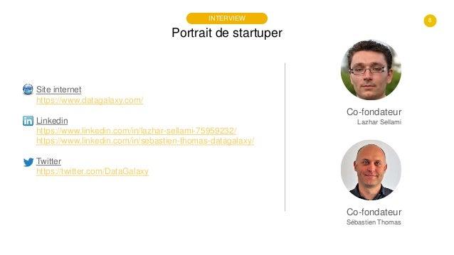 8 Portrait de startuper INTERVIEW Site internet https://www.datagalaxy.com/ Linkedin https://www.linkedin.com/in/lazhar-se...