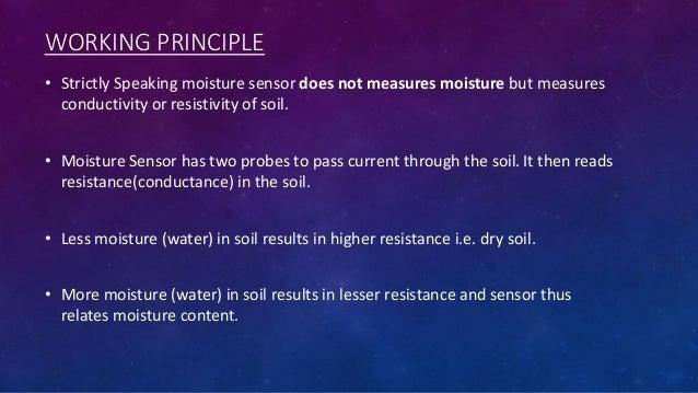 Soil moisture sensor and arduino