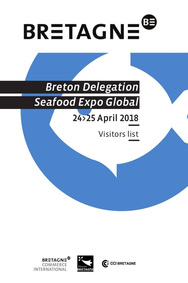 Breton companies at Seafood 2018