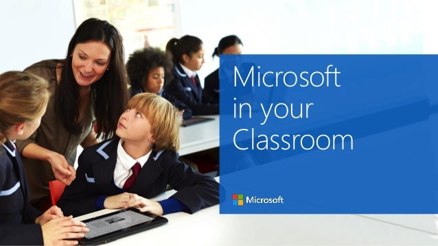 microsoft in education 32 scenarios for classrooms