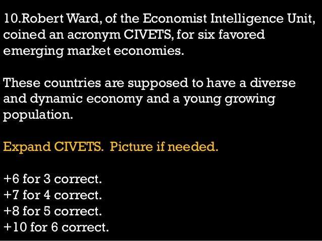 Madras School of Economics General Quiz 2014 Finals