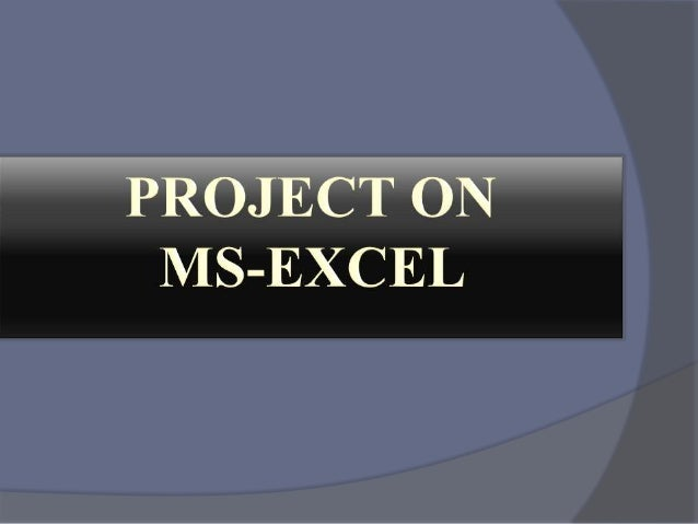Excel homework assignment help
