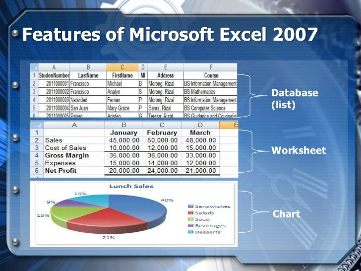 how to add in ms excel 2007