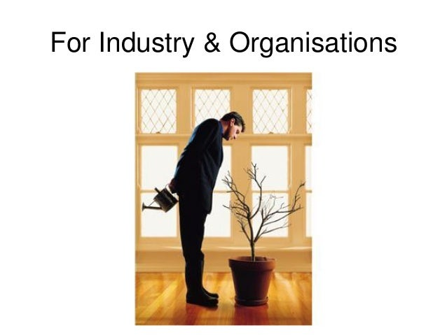 For Industry & Organisations