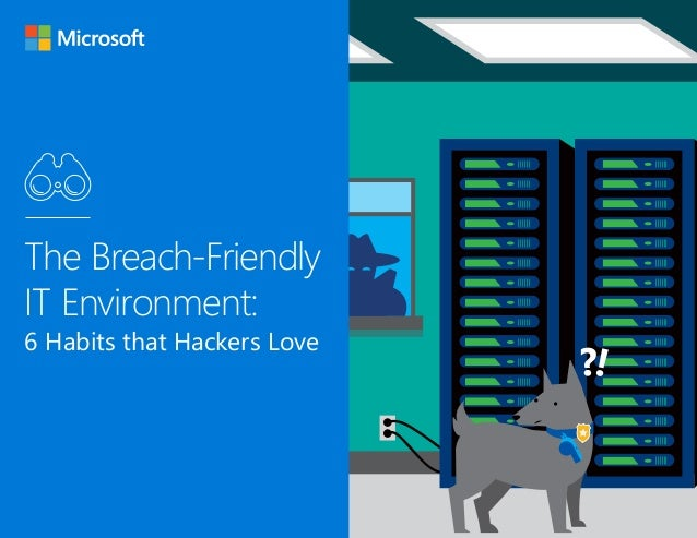 1 The Breach-Friendly IT Environment: 6 Habits that Hackers Love