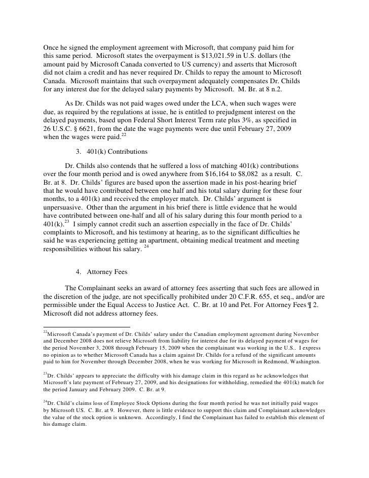 Microsoft H 1b Violations