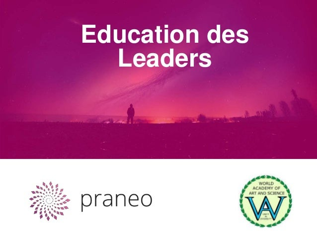 Education des Leaders