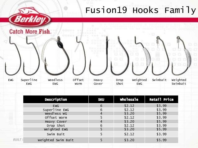 Berkley FUSION19 EWG 5//0