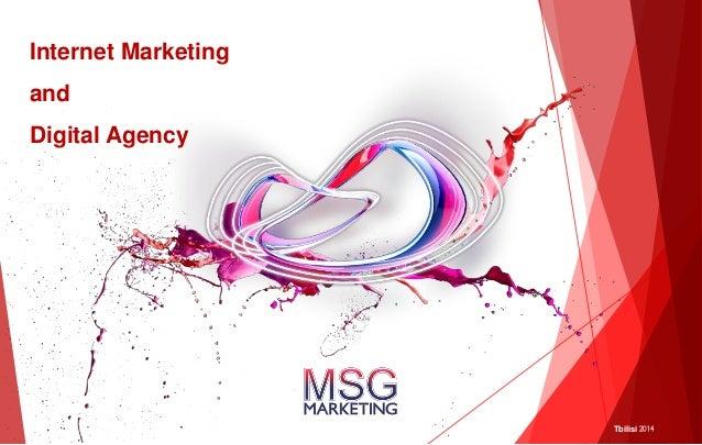 Internet Marketing and Digital Agency  Tbilisi 2014