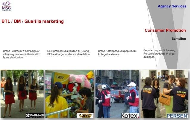 BTL / DM / Guerilla marketing  Consumer Promotion Sampling  Brand FARMASI's campaign of attracting new consultants with fl...