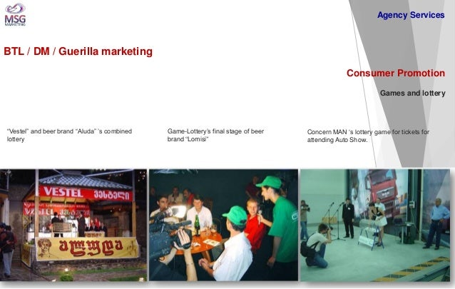 """BTL / DM / Guerilla marketing  Consumer Promotion Games and lottery  """"Vestel"""" and beer brand """"Aluda"""" 's combined lottery  ..."""