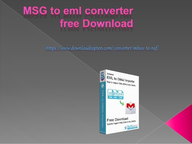 Msg to eml converter free download