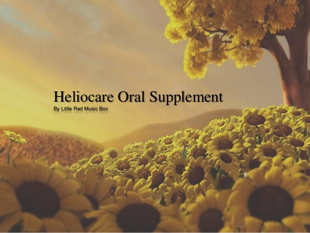 Heliocare Oral Supplement By Little Red Music Box
