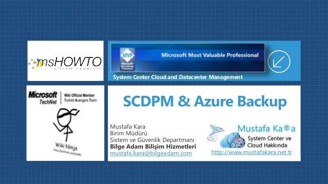 mustafa.kara@bilgeadam.com System Center Cloud and Datacenter Management http://www.mustafakara.net.tr