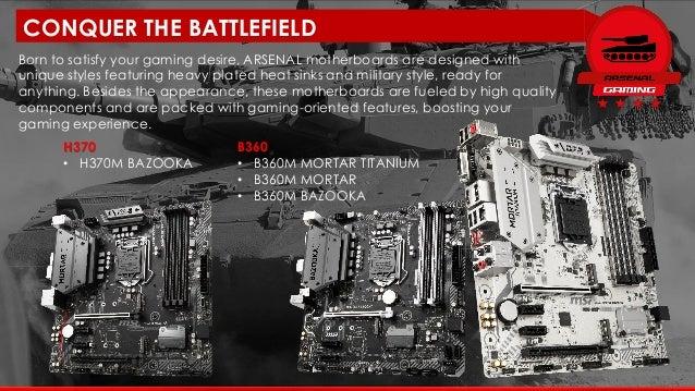 MSI Intel H370/B360/H310 Motherboard Info Kit