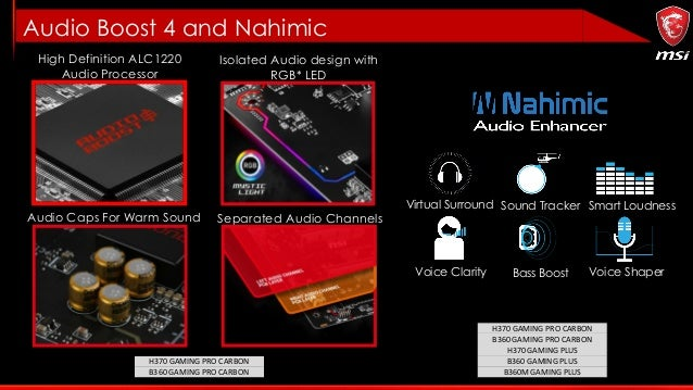 MSI Intel H370/B360/H310 Motherboard Info Kit