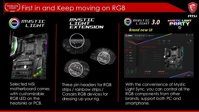 MSI AMD B450 Motherboard Info Kit