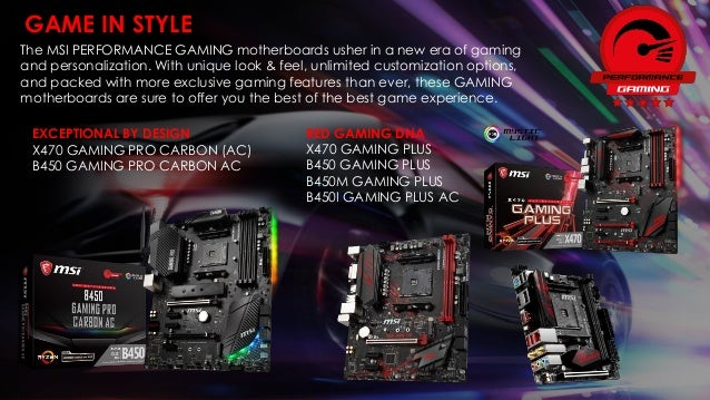 MSI AMD B450 Motherboard Info Kit