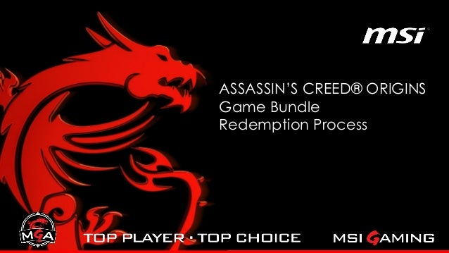 ASSASSIN'S CREED® ORIGINS Game Bundle Redemption Process