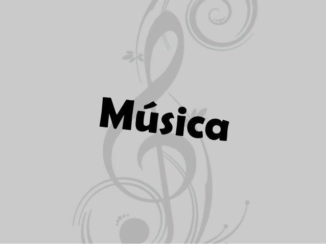 Menu• Definição de música;• Géneros musicais;- Soul- Rock- Bossa Nova- Ópera- Música Clássica- R&B- Música Pop- Blues- Jaz...