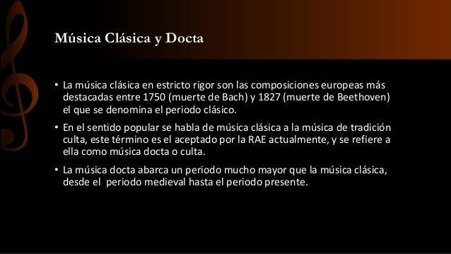 Musica Clasica E Historia