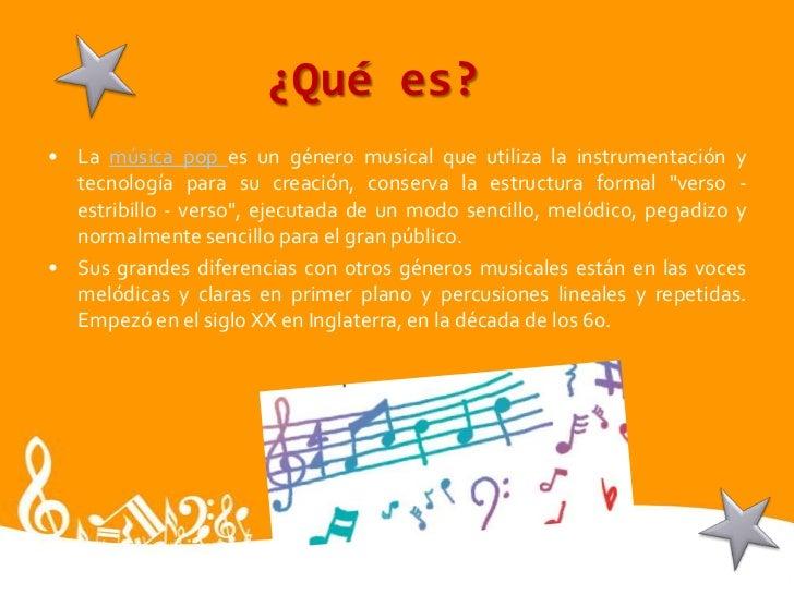 Historia De La Musica Pop Para Niños Hay Niños