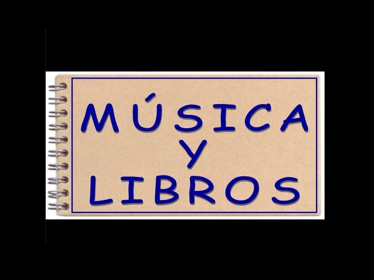 1.- LA MÚSICA• Las partes de un CD• Algunos tipos de música2.- LOS LIBROS• Las partes más importantes de un libro• Algunos...