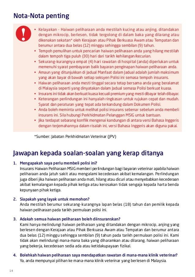 Pet Insurance Malaysia Hotline +6011-12239838