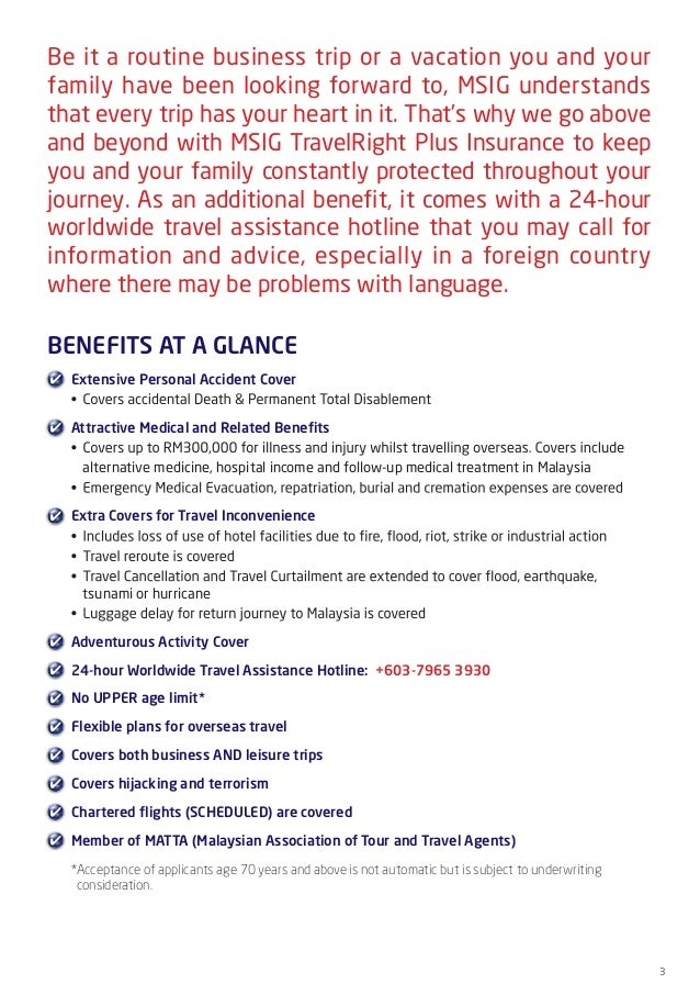 how to claim travel insurance msig